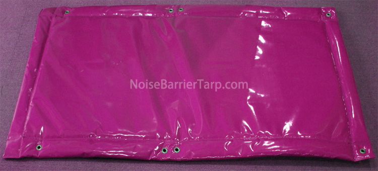 Insulated Tarps For Noise Reduction Thick Acoustic Mesh Tarp