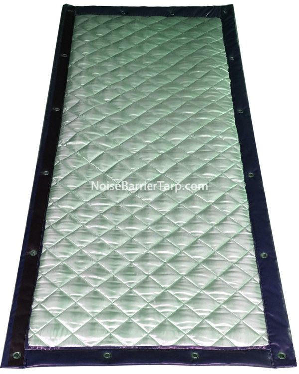Noise Barrier Fence Panels For Construction Road Noise Cancelling Fence