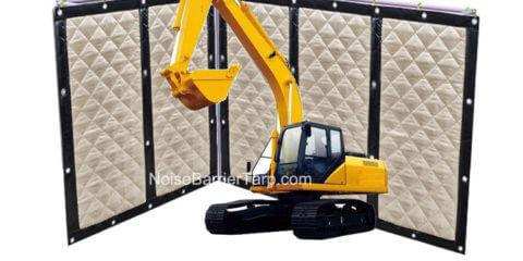Construction Fence Tarp Reduce Noise Event Tarp Insulating Tarps Backyard Fence Tarps