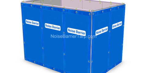 Temporary Fence Noise Barrier for Construction Noise Temporary Barrier Fence Tarps